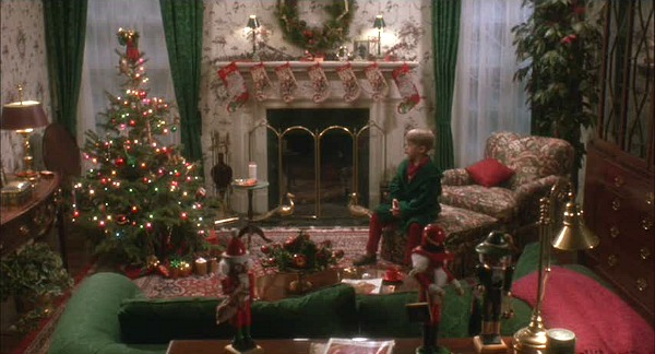 Home-Alone-movie-house-Christmas-fireplace-and-stockings
